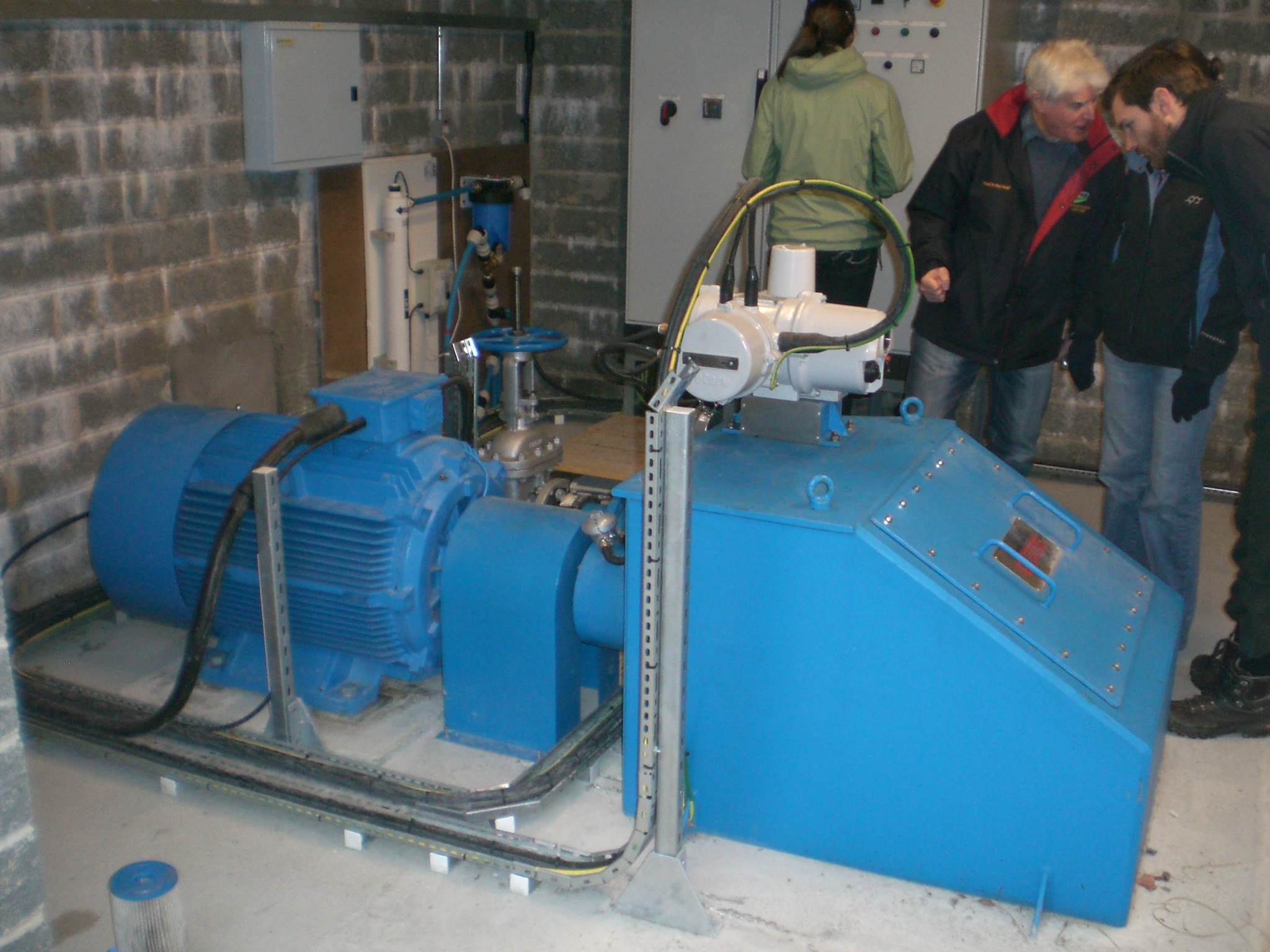 90kW Hydroelectric Generator